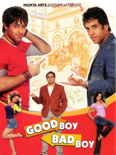 Poster of Good Boy Bad Boy 2007 Hindi DVDRip Full Movie Download
