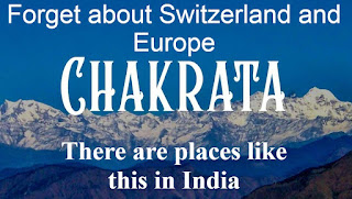 Forget about Switzerland and Europe, There are places like this in India