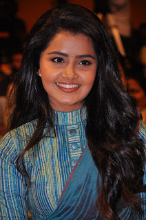 Anupama parameswaran latest audio launch Stills