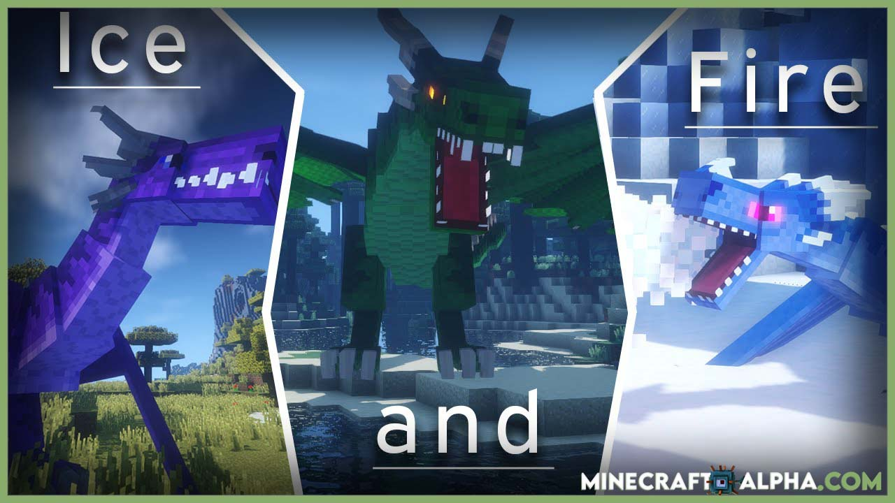 Minecraft Ice and Fire Mod