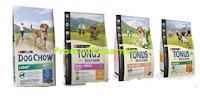 Logo Purina Tonus Dog Chow: veloci a richiedere forniture gratis