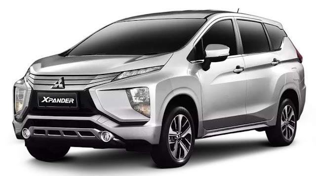 Mitsubishi xpander Silver