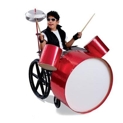 Rock 'n' Roll Drummer Costume