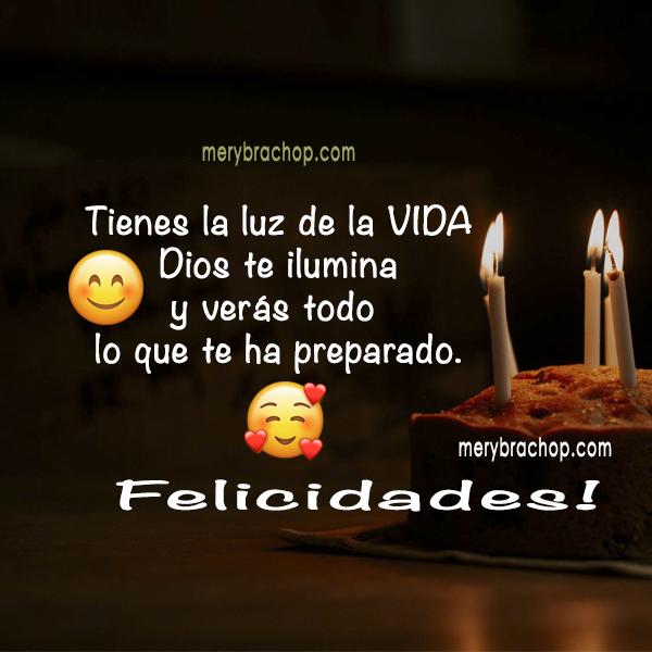 imagen cristiana de cumpleaños para felicitar amiga, hermana, hija por mery bracho