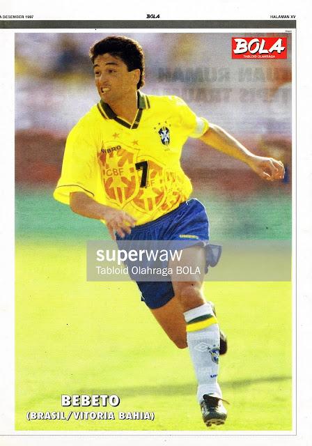 BEBETO BRAZIL 1996