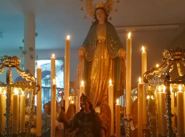 Horario e Itinerario procesión de la Milagrosa hoy en Córdoba
