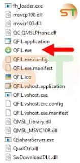 برنامج Qfil Tool