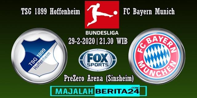 Prediksi TSG Hoffenheim vs Bayern Munich