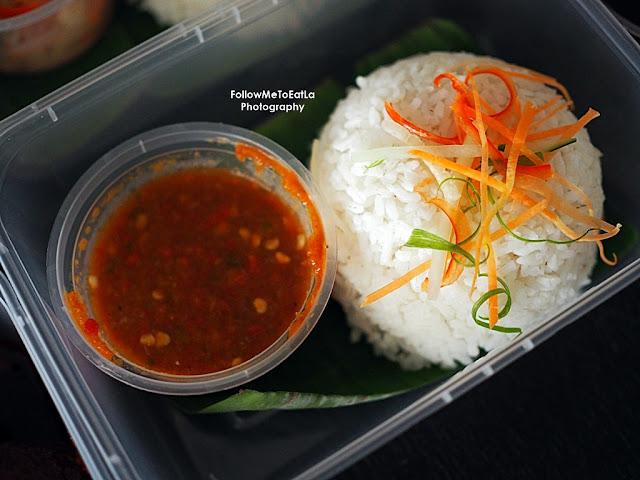 Ayam Masak Merah Rice Set RM 10+