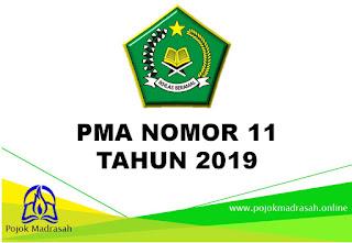 pma nomor 11 tahun 2019