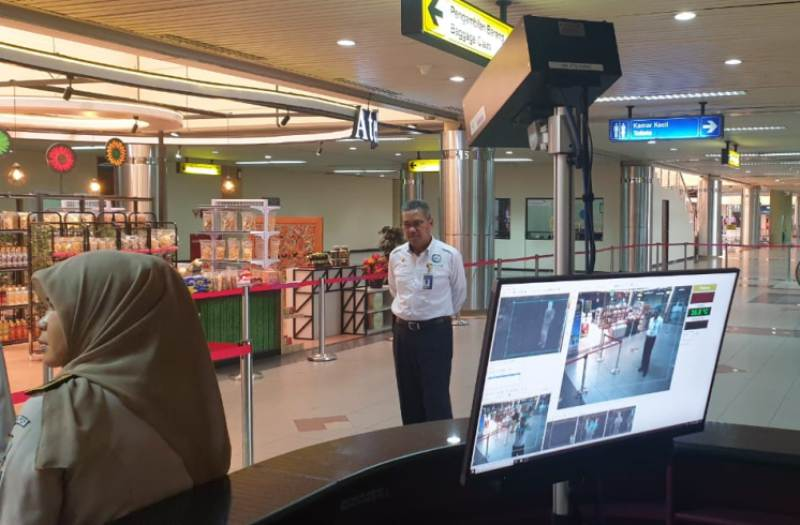 Bandara Hang Nadim Batam Dilengkapi Alat Pendeteksi Suhu Tubuh