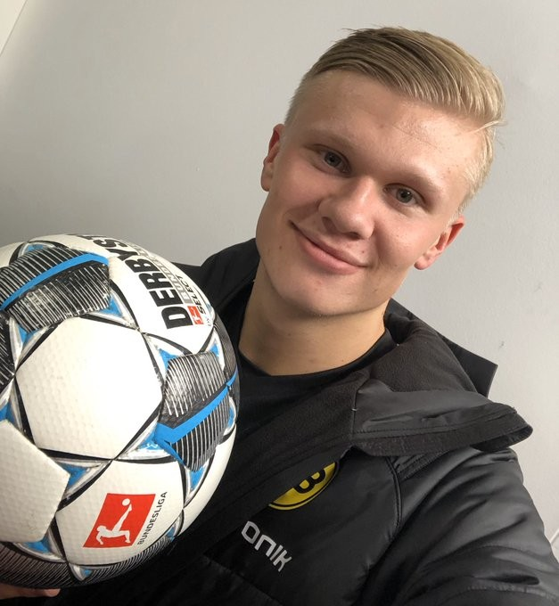 Haaland becomes Bundesliga's second-youngest hat-trick scorer