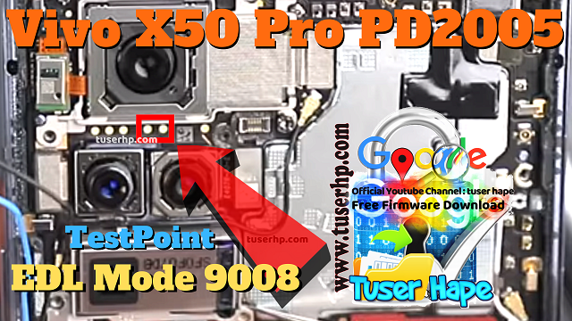 test point vivo x50 pro