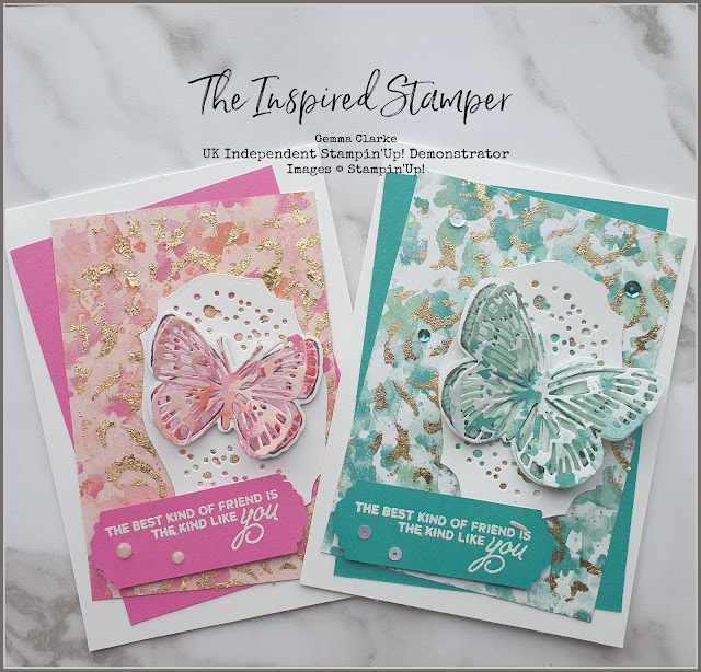 Stampin'Up! Butterfly Bouquet Cards