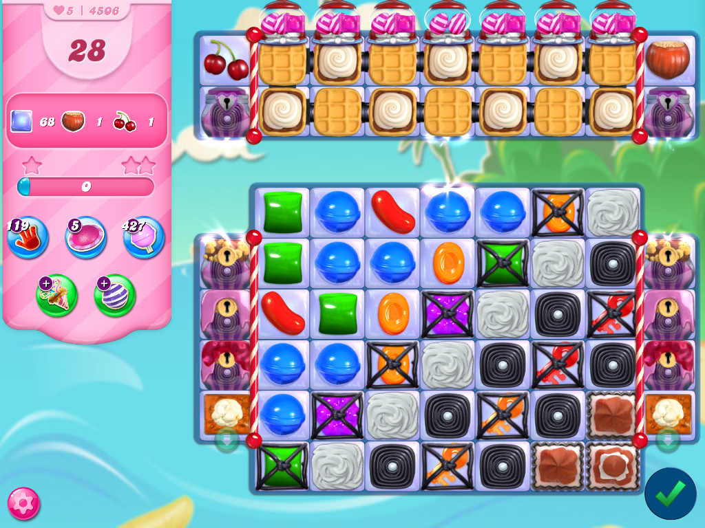 Candy Crush Saga level 4506