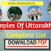Temples of Uttarakhand complete List  download PDF