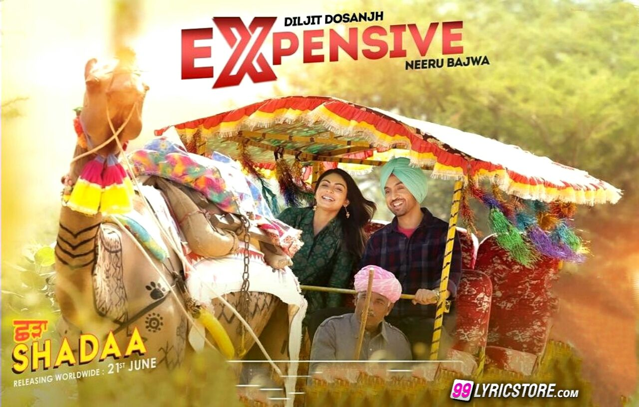 Expensive Punjabi Song Lyrics Sung by Diljit Dosanjh by Shadaa