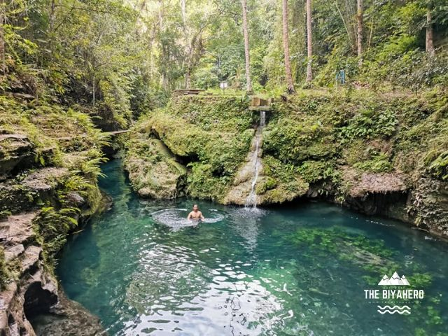 Cancalanog Falls basin.