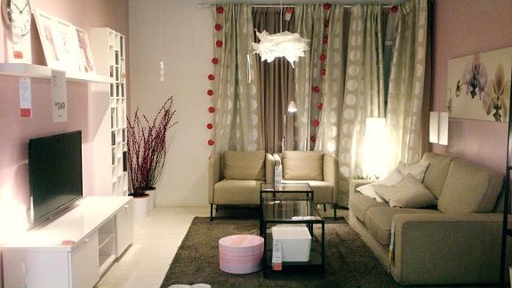 Idea Deko Dari Ikea Design Ruang Tamu Yang Simple
