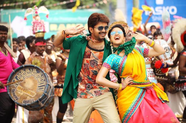 Vijay's Bairavaa Tamil Movie Latest HQ Photos Gallery