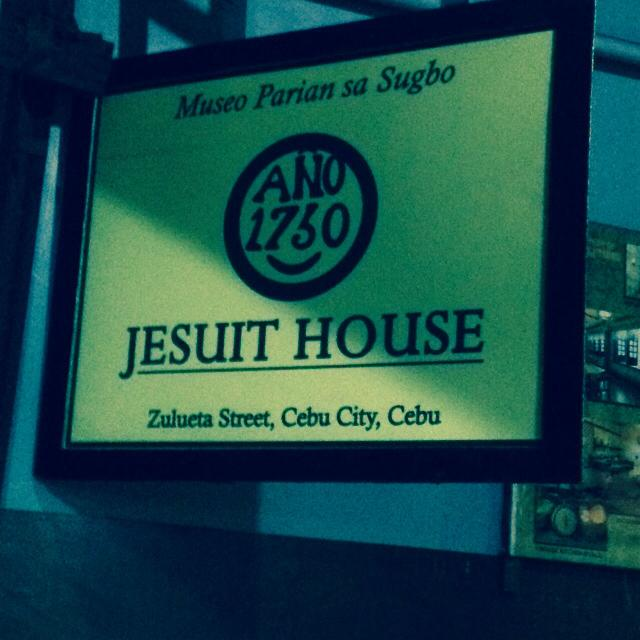Museo Parian sa Sugbo at the Jesuit House of 1730