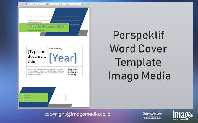 Perspektif Word Cover Template Imago Media