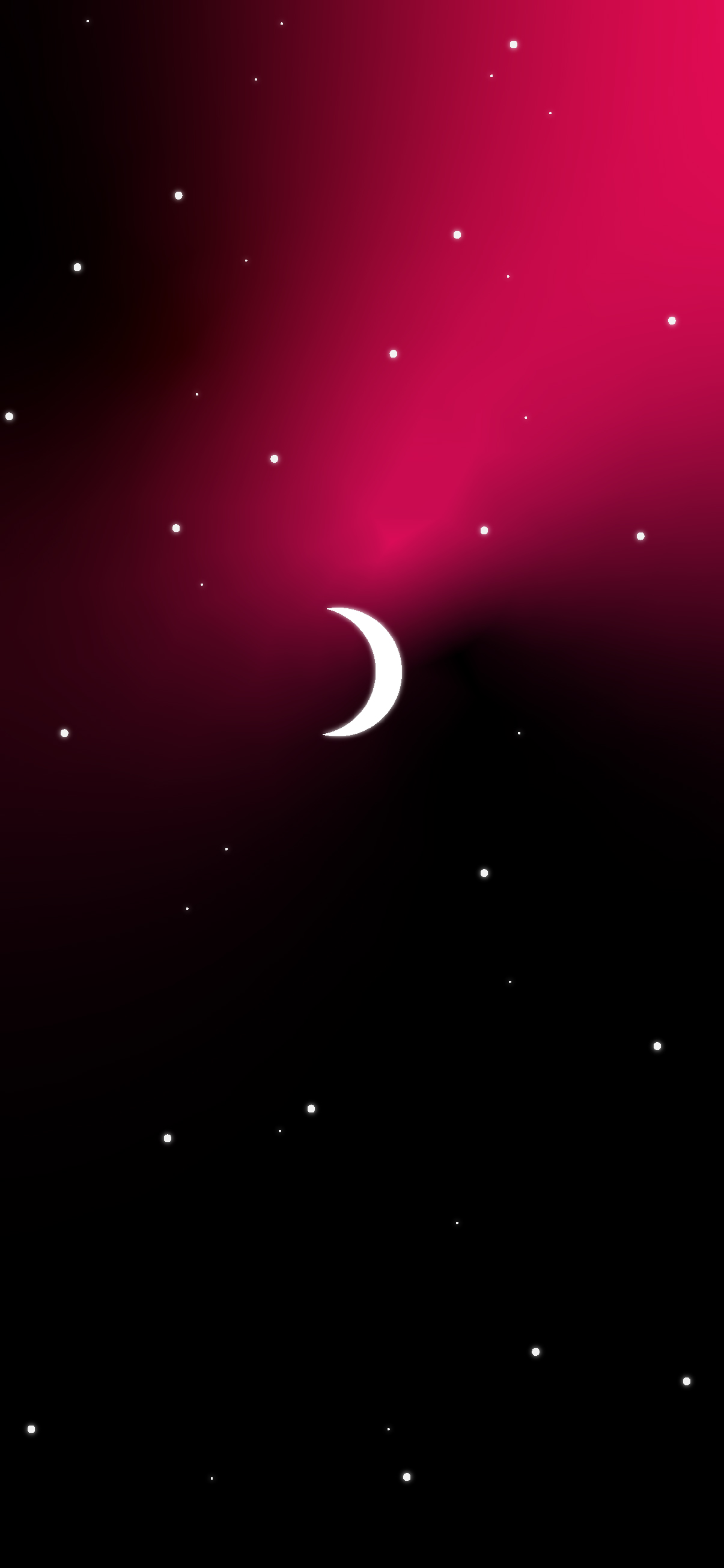 moon in clean galaxy space wallpaper background for phone