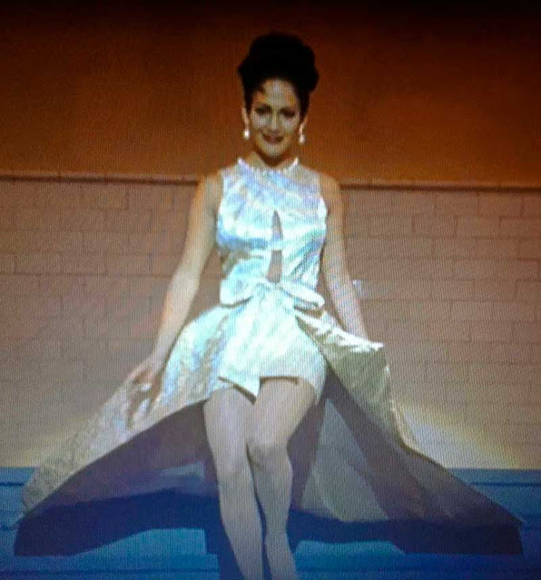 Selena Quintanilla desfile cena do filme
