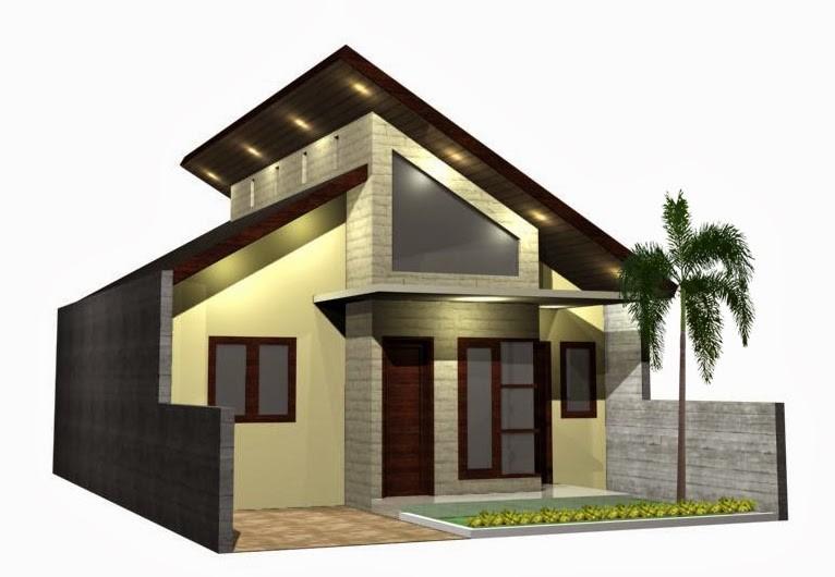 model rumah atap miring 5