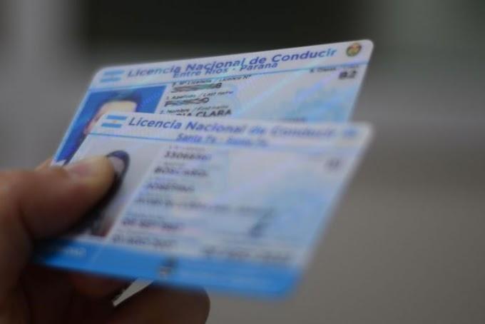 Prórroga de vencimientos a las Licencias de conducir