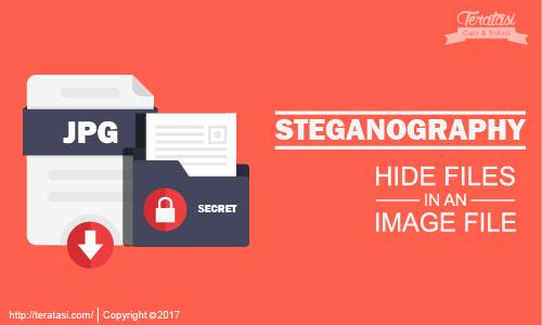Cara Menyembunyikan File ke Dalam File Gambar Tanpa Software dengan Teknik Steganografi - Teratasi.Com