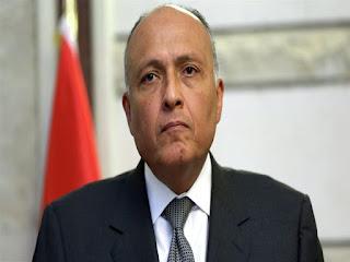 وزير الخارجية المصري يؤكد دعم ومساندة مصر للسعودية في حماية أراضيها من الاعتداءات الحوثية