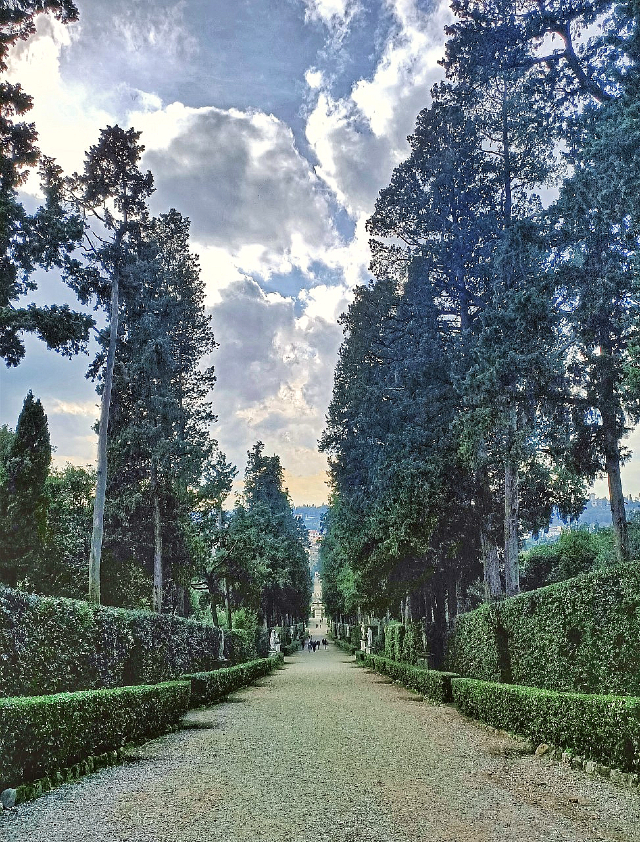 The Boboli Garden in Florence, Italy