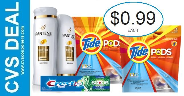 CVS Tide & Pantene Coupon Deal 2-28-3-6
