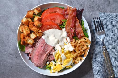 Beef Tri-Tip Cobb Salad