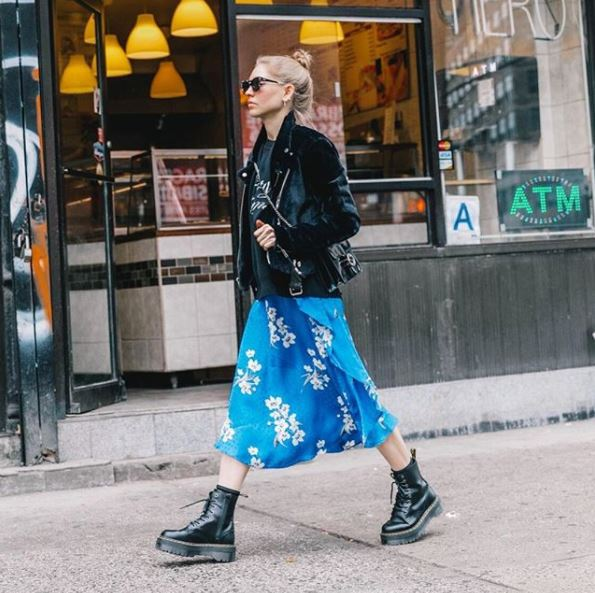 outfit anfibi come abbinare gli anfibi outfit invernali anfibi outfit primaverili anfibi tendenza anfibi dr martens how to wear dr martens boots mariafelicia magno fashion blogger colorblock by felym fashion blogger italiane fashion bloggers italy