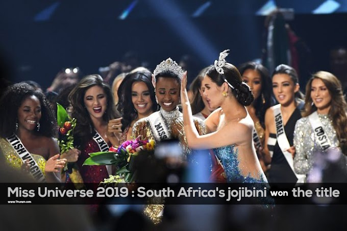 Miss Universe 2019 : South Africa's jojibini won the title