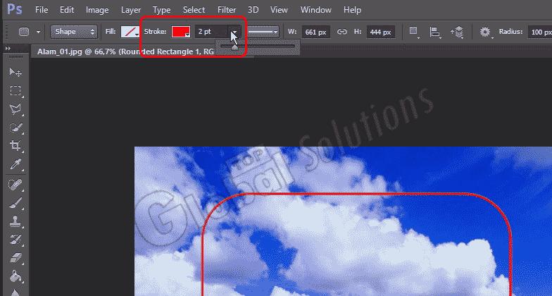 Membuat Sudut Gambar Melengkung Di Photoshop Top Global Solutions