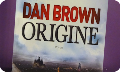 Livre Origine - Dan Brown