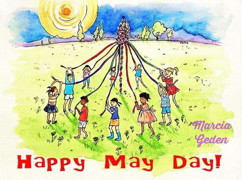 May Day Wishes for Instagram