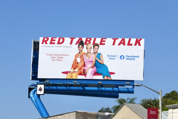 Red Table Talk season 3 billboard