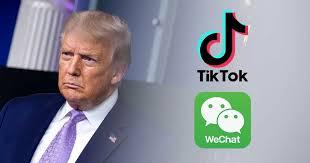 ترامب يأمر بحظر المعاملات مع TikTok و Tencent - موقع عناكب الاخباري
