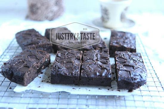 Resep Starbucks Double Chocolate Brownies JTT