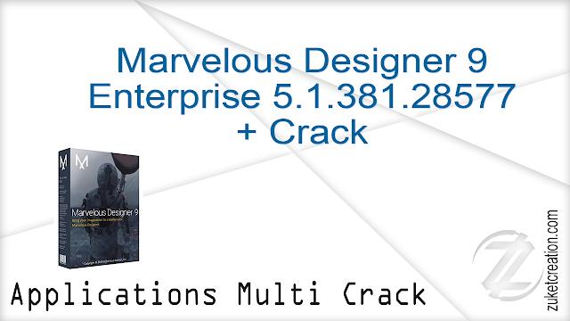 Marvelous Designer 9 Enterprise 5.1.381.28577 + Crack
