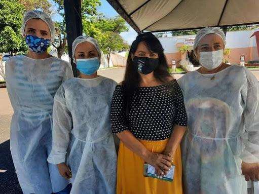 Blogueiro denuncia que a Vereadora Raquel Spada pode ter furado fila da vacinação em Ourinhos