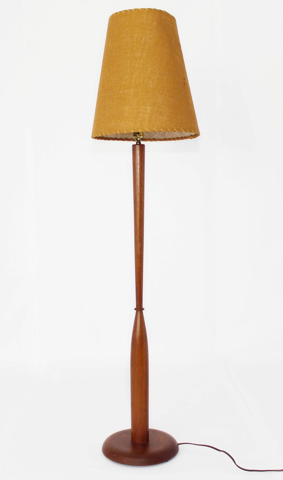 Mansion Decor: Danish Mid Century Teak Floor Lamp
