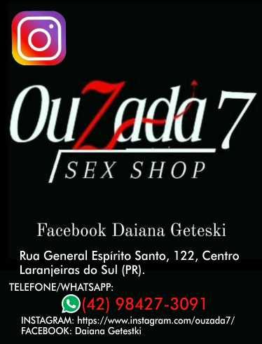 OUZADA SEX SHOP em Laranjeiras do Sul