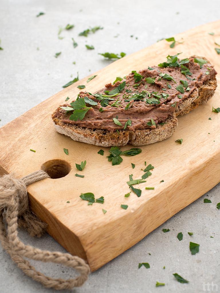 """Wegańska """"pasta rybna"""" roślinny blog kulinarny przepis"""