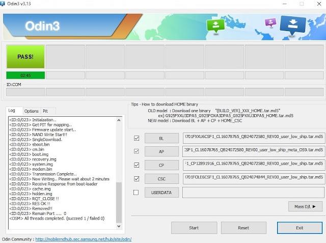 Firmware SM-J701F Samsung Galaxy J7 Core