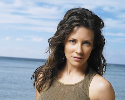 evangeline lilly workout images photos